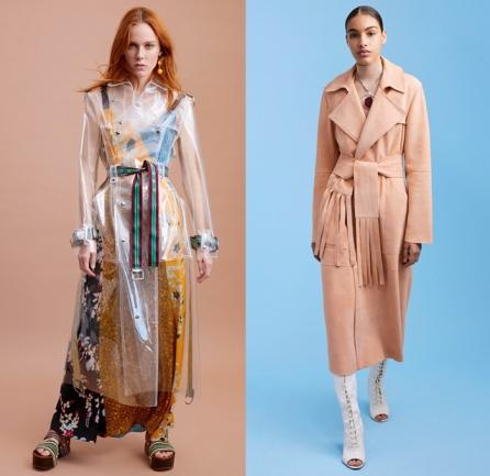 Diane von Frustenberg - trench coats