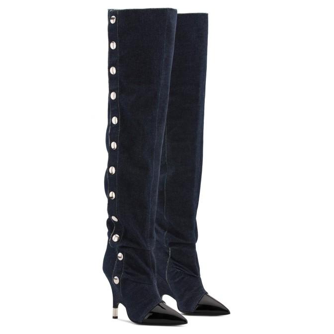 Denim Boots - Giuseppe Zanotti