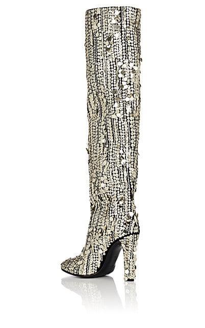 Sequinned Boots - Alberta Ferretti