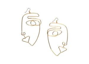 Metal Earrings H&M