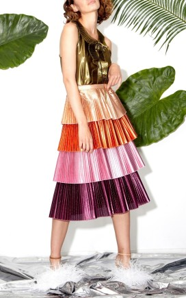 Tiered skirt - Delfi Collective